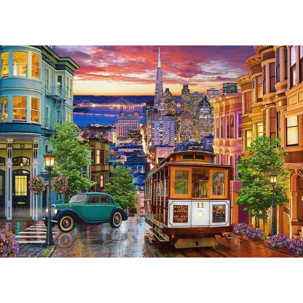Puzzle Castorland 500 San Francisco trolley
