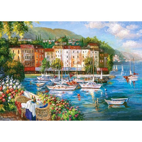 Puzzle Castorland 500 Harbour of Love