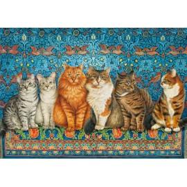 Puzzle Castorland 500 Cat Aristocracy