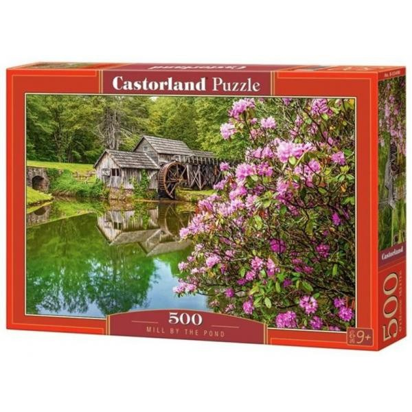 Puzzle Castorland 500 Mill by the pond