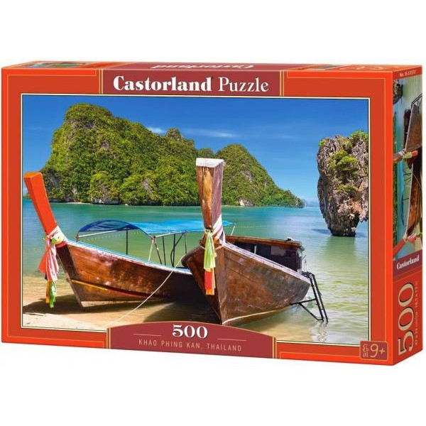 Puzzle Castorland 500 Kao Phing Kan Thailand