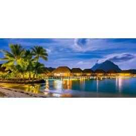 Puzzle Castorland 600 panoramic French Polynesia