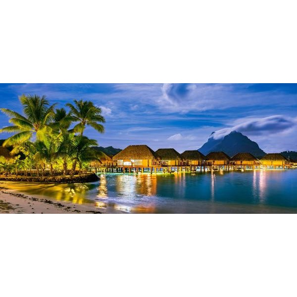 Puzzle panoramic Castorland - French Polynesia 600 piese (60320)