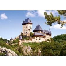 Puzzle Castorland - 1000 de piese - Castelul Karlstein, Republica Ceha