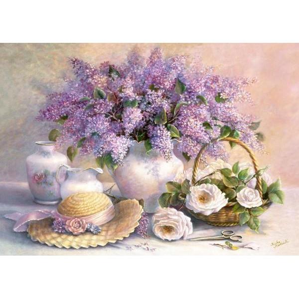 Puzzle Castorland - 1000 de piese - Trisha Hardwick: Flower Day