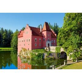 Puzzle Castorland - 1000 de piese - Cervena Lotha Castle, Czech Republic