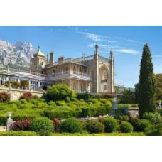 Puzzle Castorland - 1000 de piese - Vorontsov Palace, Crimea