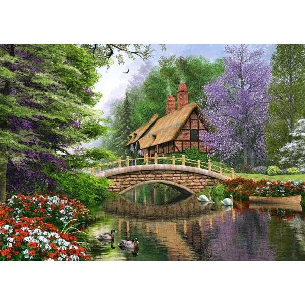 Puzzle Castorland - River Cottage 1000 piese