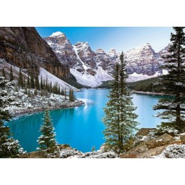 Puzzle Castorland - 1000 de piese - The Jewel of the Rockies, Canada