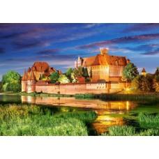 Puzzle Castorland - 1000 de piese - Malbork Castle Poland