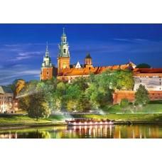 Puzzle Castorland - 1000 de piese - Wawel Castle Poland