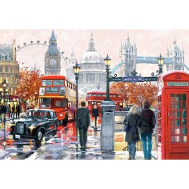 Puzzle Castorland - 1000 de piese - Macneil : London Collage