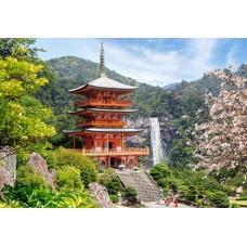 Puzzle Castorland - 1000 de piese - Seiganto-ji Temple Japan