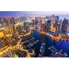 Puzzle Castorland - 1000 de piese - Dubai at Night
