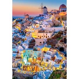 Puzzle Castorland - 1000 de piese - Santorini Lights