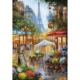 Puzzle Castorland 1000 Robert Finale : Spring Flowers Paris