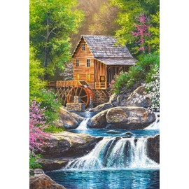 Puzzle Castorland - Spring Mill 1.000 piese (104055)