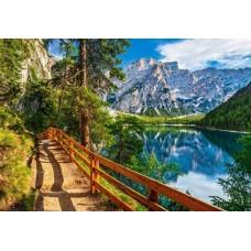 Puzzle Castorland 1000 Braies lake Italy