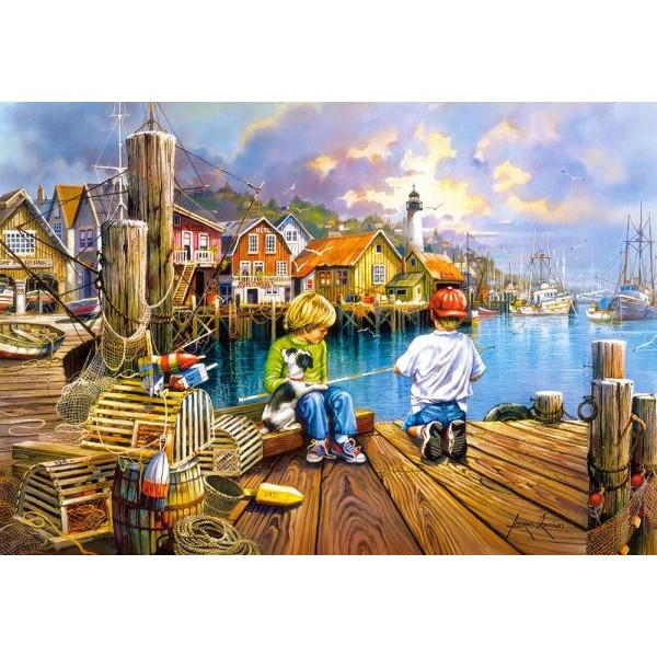 Puzzle Castorland 1000 AT THE DOCK