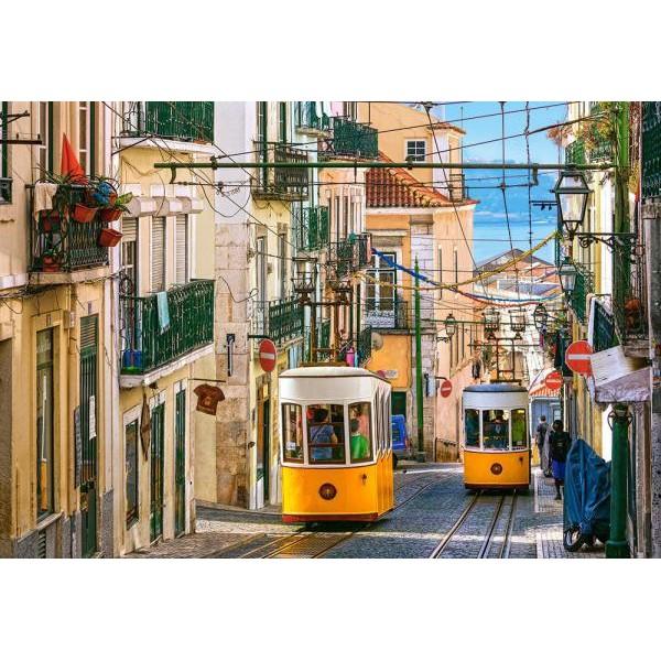 Puzzle Castorland 1000 LISBON TRAMS PORTUGAL