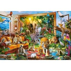 Puzzle Castorland 1000 Coming to room