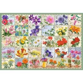 Puzzle Castorland - Vintage Floral 1.000 piese (104338)
