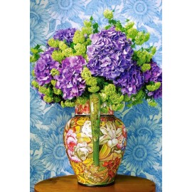 Puzzle Castorland 1000 BOUQUET OF HYDRANGEAS