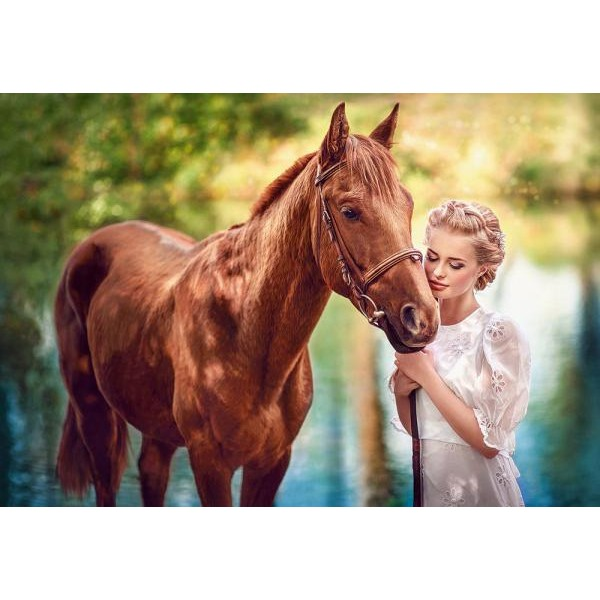 Puzzle Castorland 1000 BEAUTY AND GENTLENESS