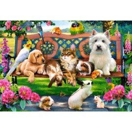 Puzzle Castorland 1000 PETS IN THE PARK