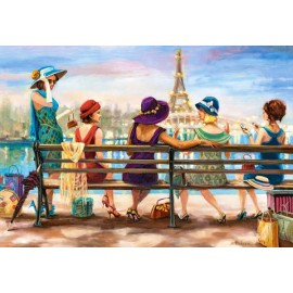 Puzzle Castorland - Girls Day Out 1.000 piese (104468)