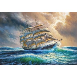 Puzzle Castorland 1000 SAILING AGAINST ALL ODDS