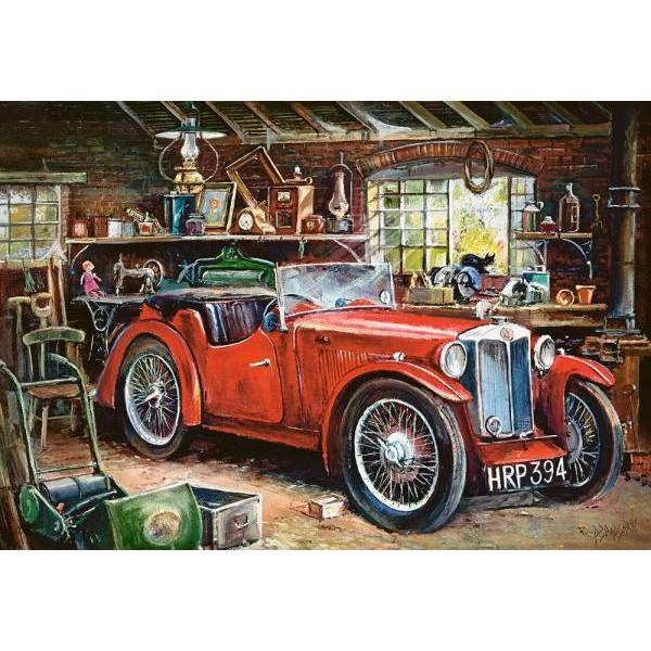 Puzzle Castorland 1000 Vintage garage