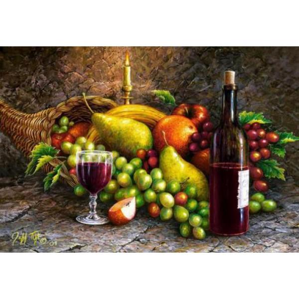 Puzzle Castorland 1000 Fruit and wine