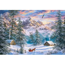 Puzzle Castorland 1000 Mountain Christmas