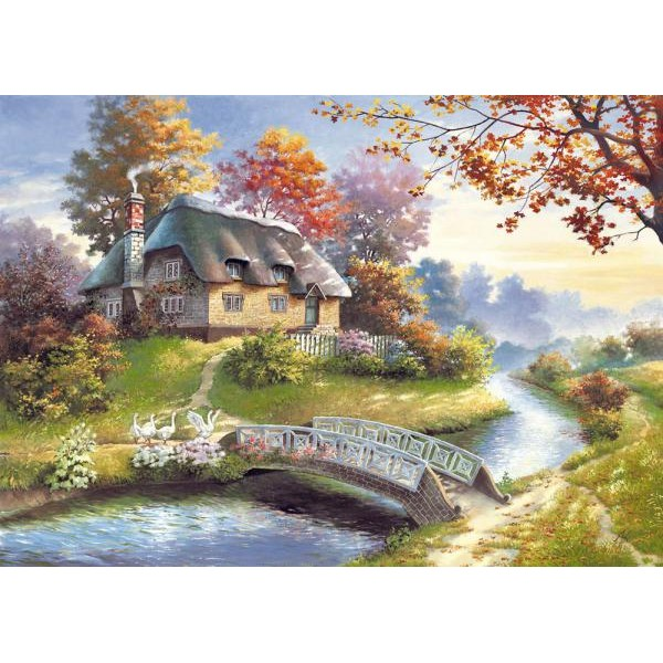 Puzzle Castorland - Cottage 1500 piese