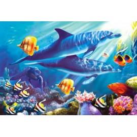 Puzzle Castorland - 1500 de piese - Lumea subacvatica