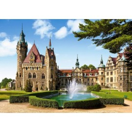 Puzzle Castorland - Moszna Castlle Poland 1500 piese