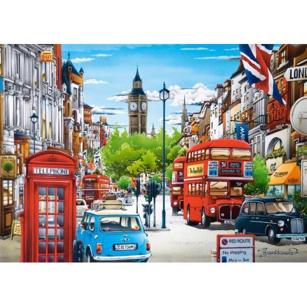 Puzzle Castorland 1500 Hiro Tanikawa : London
