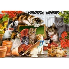 Puzzle Castorland 1500 Interlitho: Kittens Play Team