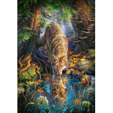 Puzzle Castorland - Wolf In The Wild 1500 piese (151707)