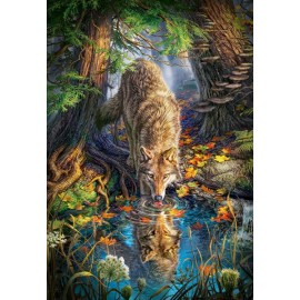 Puzzle Castorland 1500 Wolf in the Wild