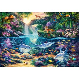 Puzzle Castorland 1500 JUNGLE PARADISE