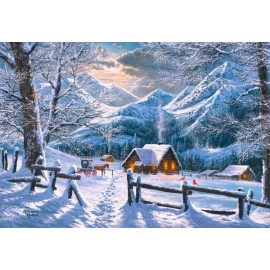 Puzzle Castorland 1500 Snowy morning