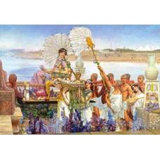 Puzzle Castorland 2000 Gasirea lui Moise Sir Lawrence Alma-Tadem---