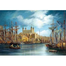 Puzzle Castorland 3000 New Day at the Harbour---