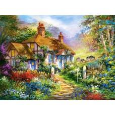 Puzzle Castorland - 3000 de piese - Forest cottage