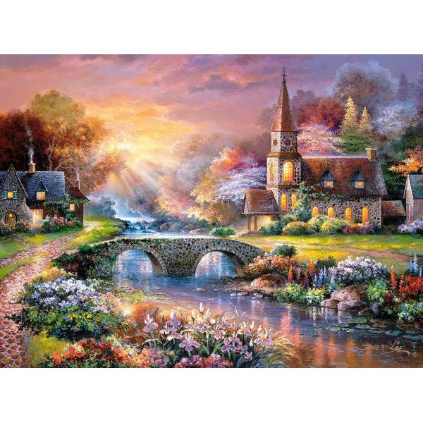 Puzzle Castorland - 3000 de piese - James Lee : Peaceful reflections
