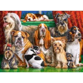 Puzzle Castorland 3000 Marcello Corti: Dog Club