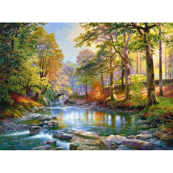 Puzzle Castorland 3000 Graham Twyford : ALONG THE RIVER