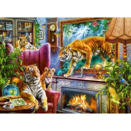 Puzzle Castorland 3000 TIGERS COMMING TO LIFE